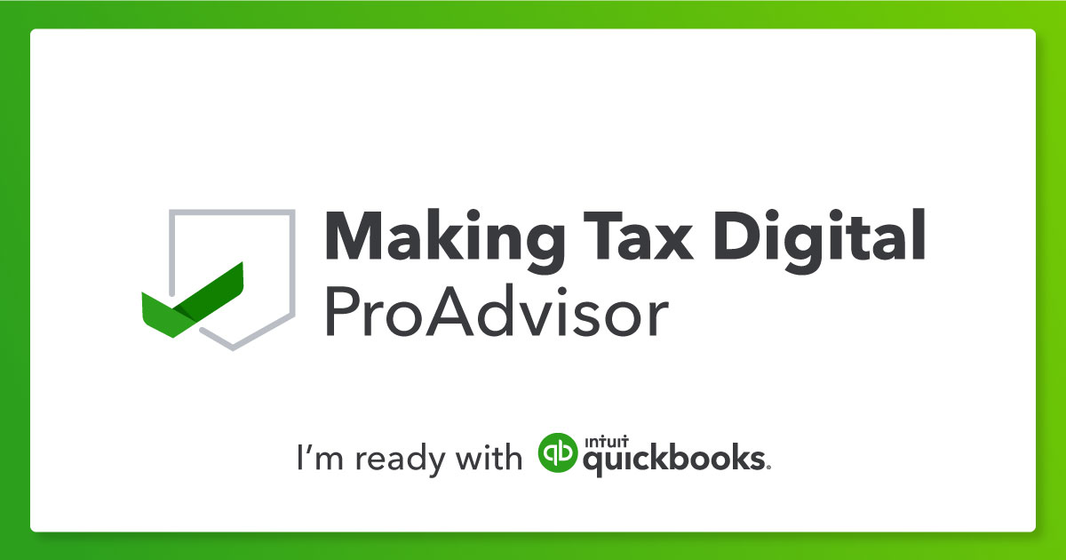 Making Tax Digital QuickBooks